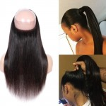 Lace frontal straight 360°