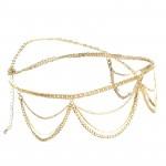 Headband chain flower