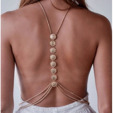 BODY CHAIN DOUCE MEDAILLE