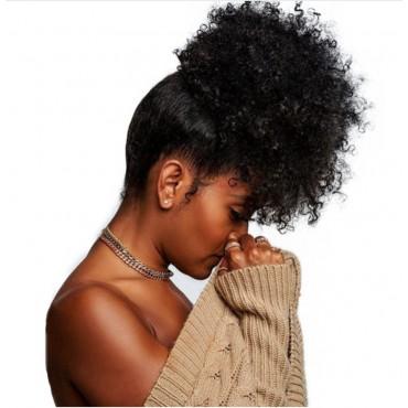 CHIGNON AFRO HUMAN HAIR
