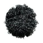 Afro bun