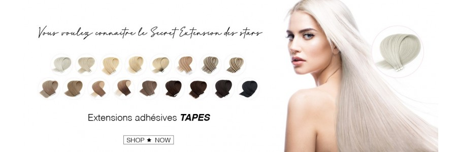 Tapes extensions adhésives