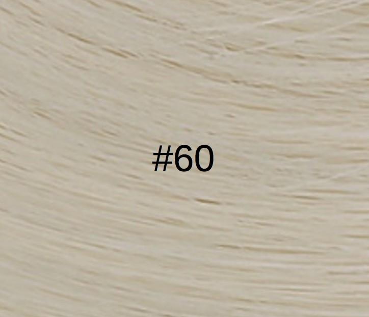60 Blond platine