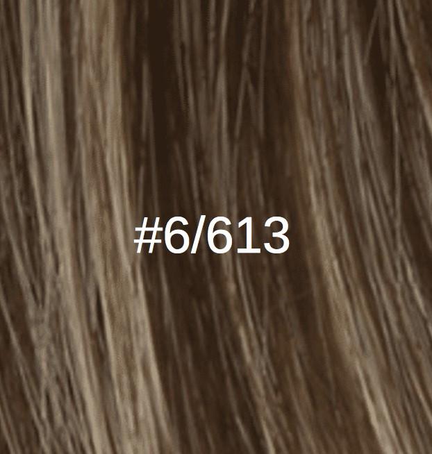 6/613 Châtain foncé cendré/Blond clair doré