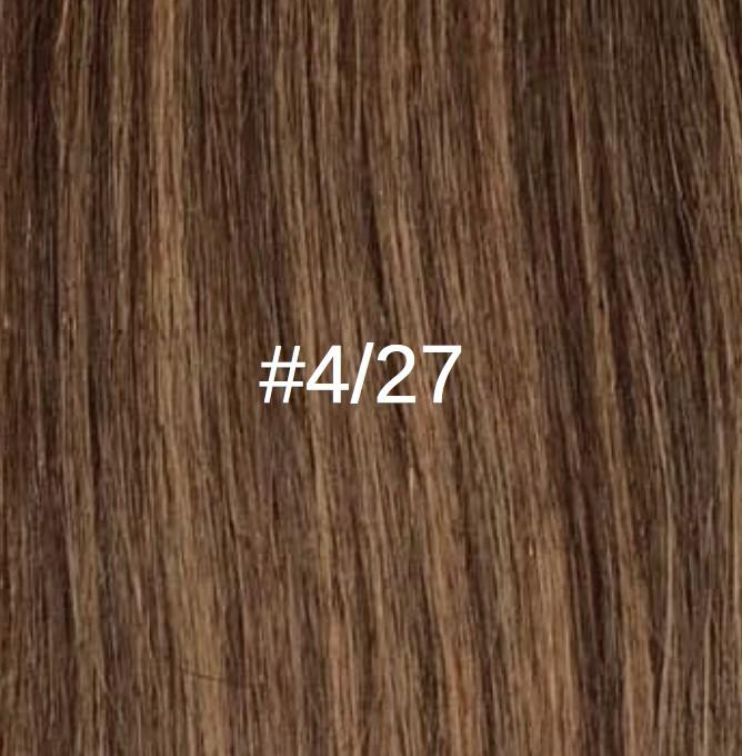 4/27 Châtain foncé doré/Blond doré miel