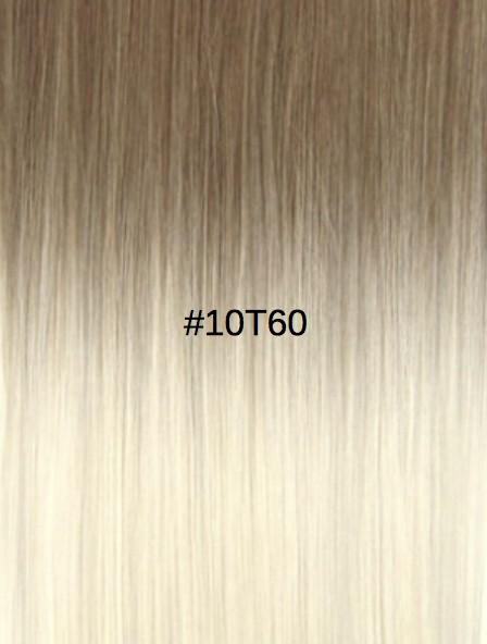 10T60 Châtain cendré/Blond platine