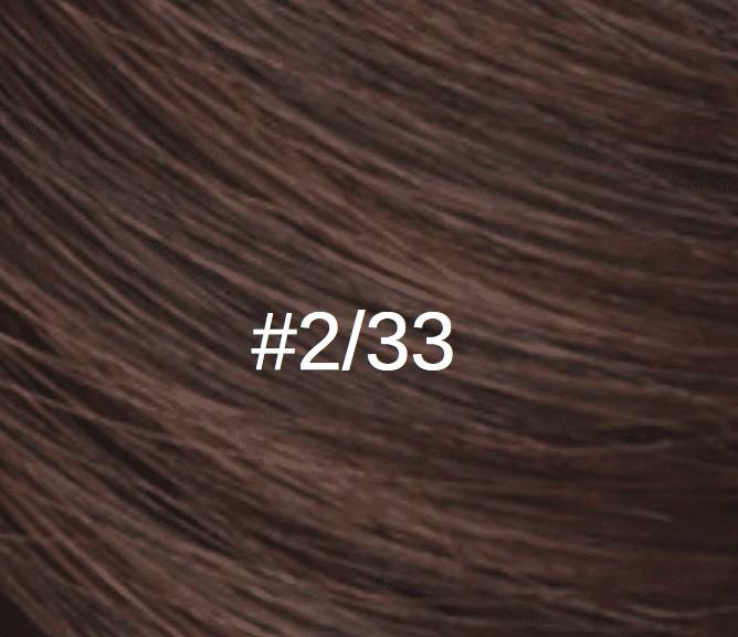 2/33 Châtain foncé/auburn rouge