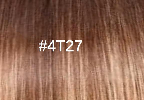 4T27 Châtain foncé doré/Blond miel doré