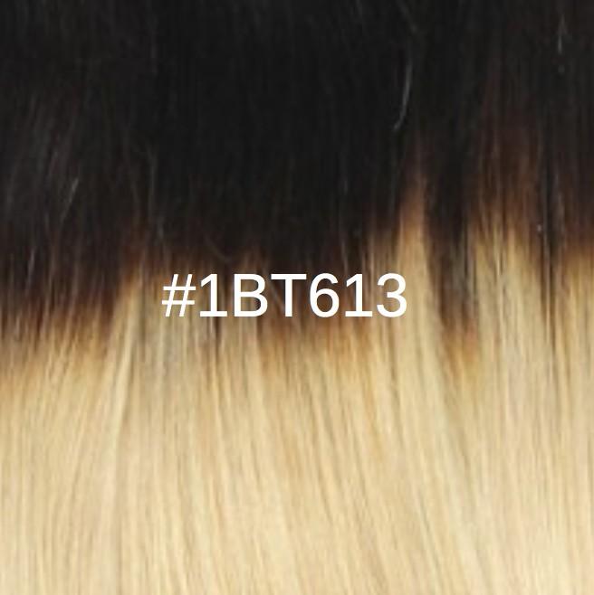 1BT613 Châtain noir/Blond clair doré